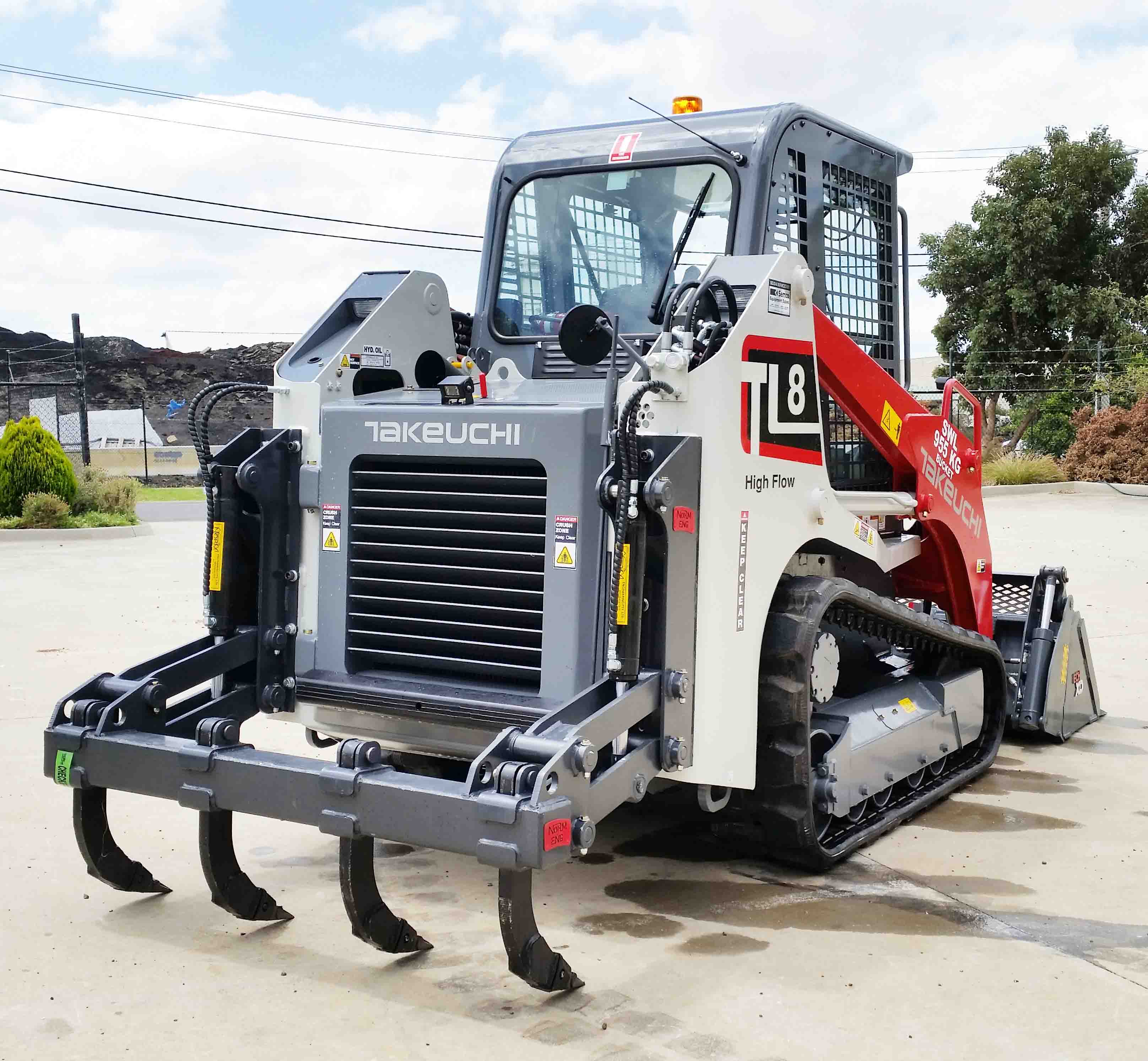 Ground Breaking Takeuchi Tl10 Is A Ripper Semco Group